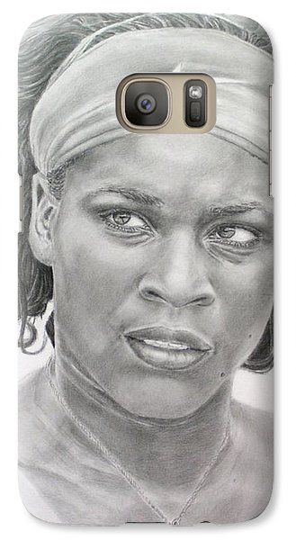 Venus Williams Galaxy S7 Case by Blackwater Studio