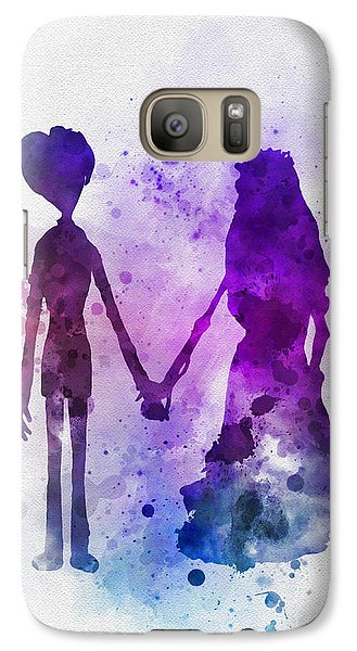 Victor And Emily Galaxy Case by Rebecca Jenkins