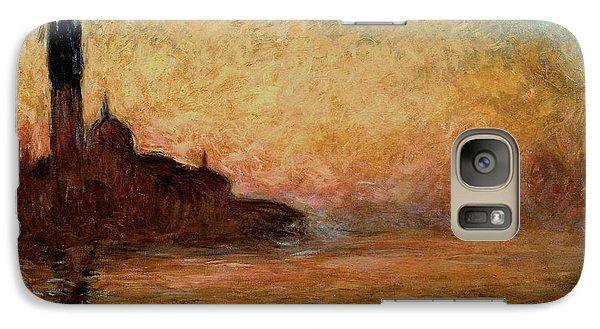 View Of San Giorgio Maggiore Galaxy S7 Case by Claude Monet