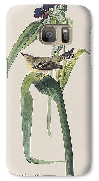 Vigor's Warbler Galaxy S7 Case by John James Audubon