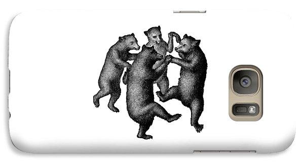 Vintage Dancing Bears Galaxy S7 Case by Edward Fielding