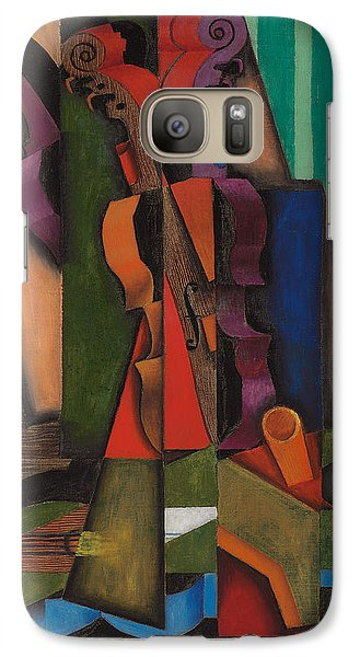 Violin And Guitar Galaxy Case by Juan Gris