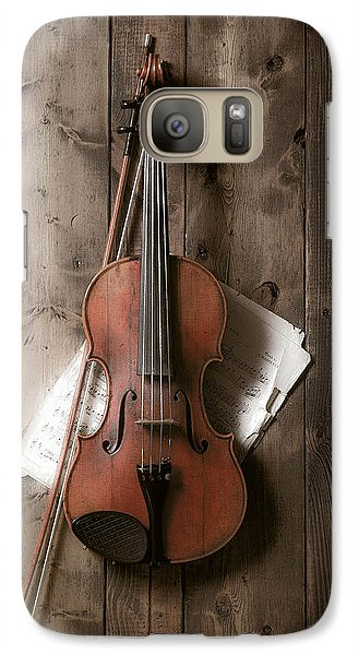 Violin Galaxy Case by Garry Gay