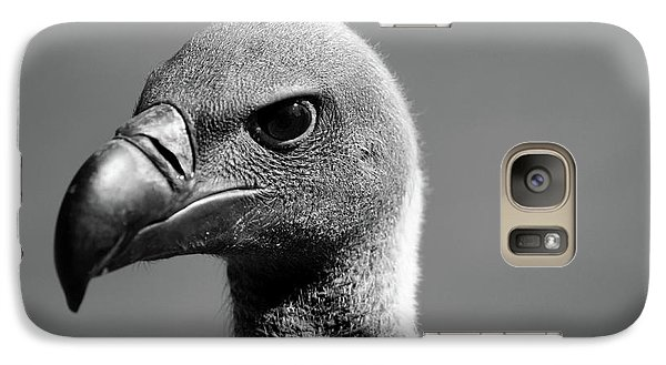 Vulture Eyes Galaxy Case by Martin Newman