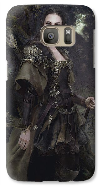 Waldelfe Galaxy S7 Case by Eve Ventrue