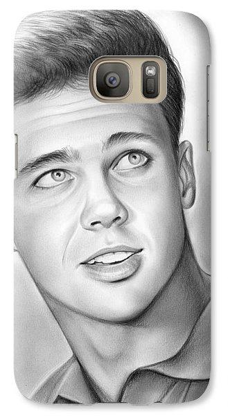Wally Cleaver Galaxy S7 Case by Greg Joens