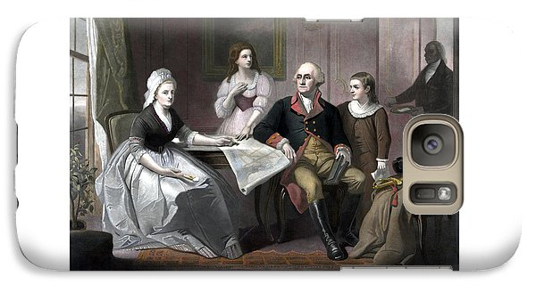 Washington And His Family Galaxy S7 Case by War Is Hell Store