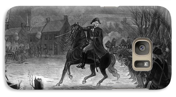 Washington At The Battle Of Trenton Galaxy S7 Case by War Is Hell Store