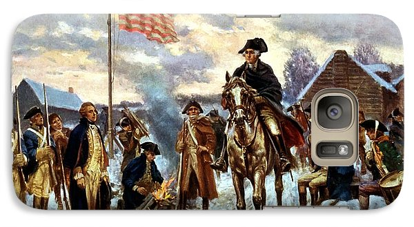 Washington At Valley Forge Galaxy Case by War Is Hell Store