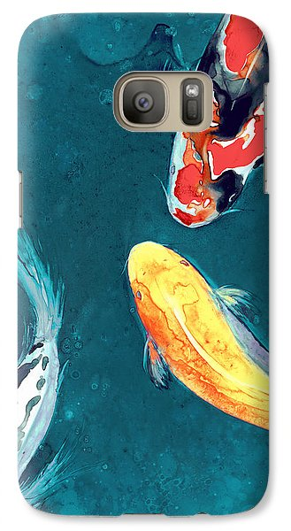 Water Ballet Galaxy Case by Brazen Edwards
