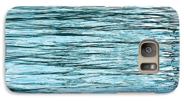 Water Flow Galaxy Case by Steve Gadomski