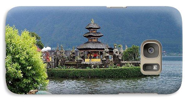 Water Temple Pagoda Galaxy Case by Timea Mazug