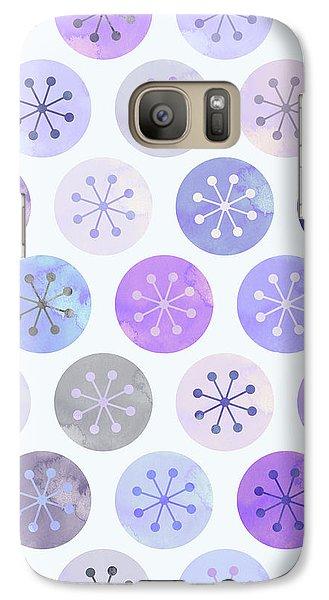 Watercolor Lovely Pattern II Galaxy S7 Case by Amir Faysal