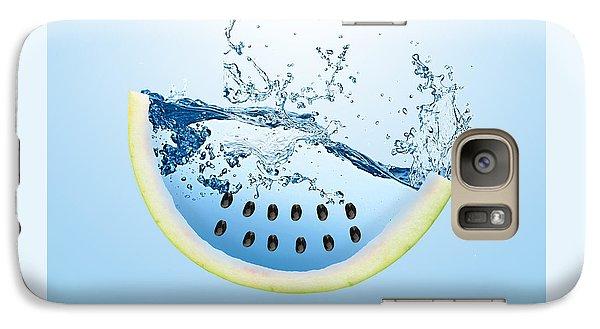 Watermelon Splash Galaxy Case by Marvin Blaine