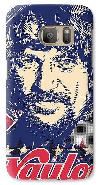 Waylon Jennings Pop Art Galaxy S7 Case by Jim Zahniser
