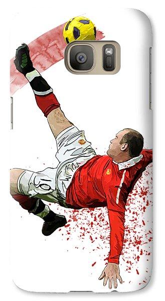 Wayne Rooney Galaxy Case by Armaan Sandhu