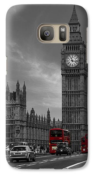Westminster Bridge Galaxy S7 Case by Martin Newman