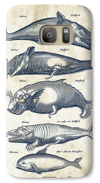 Whale Historiae Naturalis 08 - 1657 - 41 Galaxy S7 Case by Aged Pixel