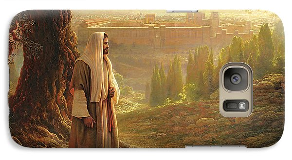 Wherever He Leads Me Galaxy Case by Greg Olsen