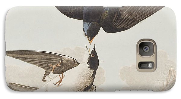 White-bellied Swallow Galaxy S7 Case by John James Audubon