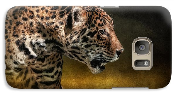 Who Goes There Galaxy S7 Case by Lois Bryan