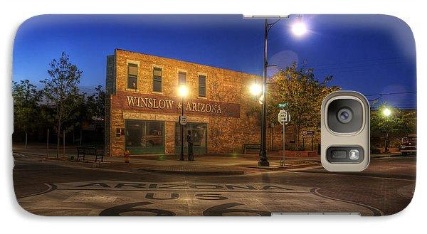 Winslow Corner Galaxy S7 Case by Wayne Stadler
