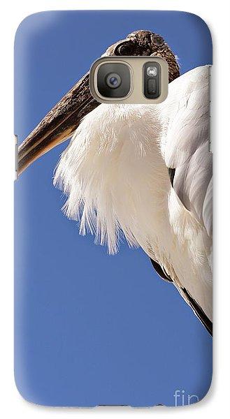 Wonderful Wood Stork Galaxy S7 Case by Carol Groenen