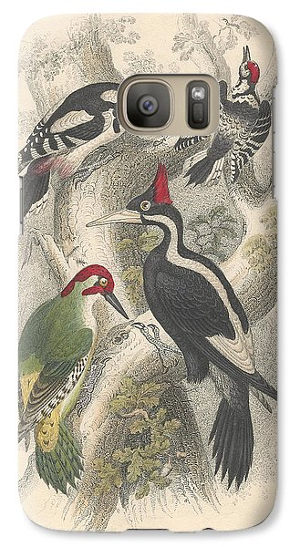 Woodpeckers Galaxy S7 Case by Oliver Goldsmith