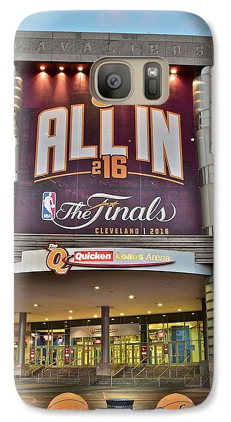 World Champion Cleveland Cavaliers Galaxy S7 Case by Frozen in Time Fine Art Photography
