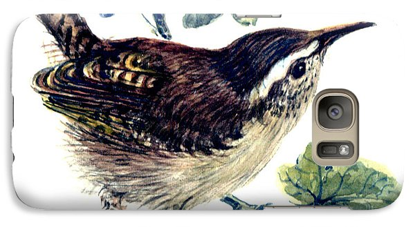 Wren In The Ivy Galaxy S7 Case by Nell Hill