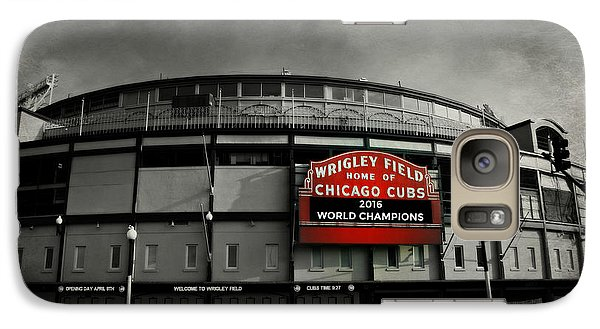 Wrigley Field Galaxy S7 Case by Stephen Stookey
