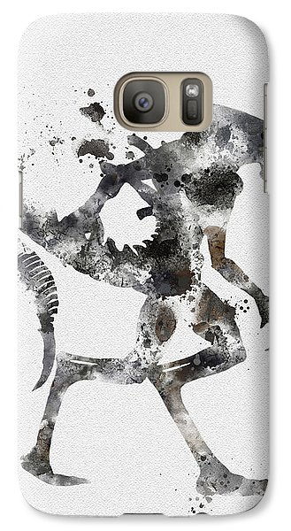 Xenomorph Galaxy S7 Case by Rebecca Jenkins