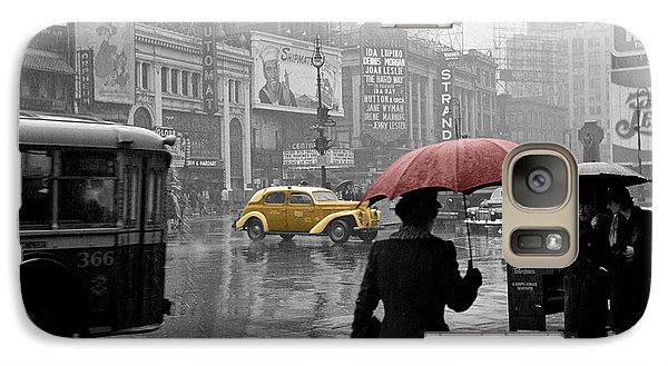 Yellow Cabs New York 2 Galaxy S7 Case by Andrew Fare