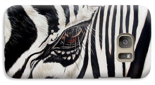 Zebra Eye Galaxy Case by Ilse Kleyn