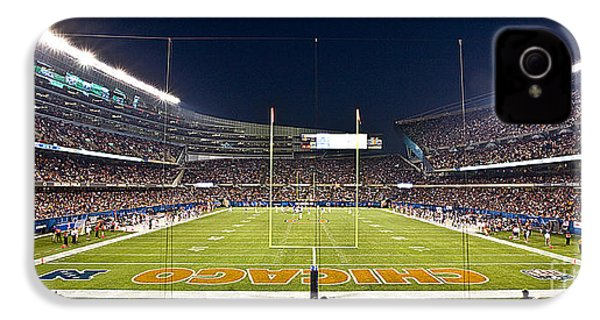 0587 Soldier Field Chicago IPhone 4 / 4s Case by Steve Sturgill