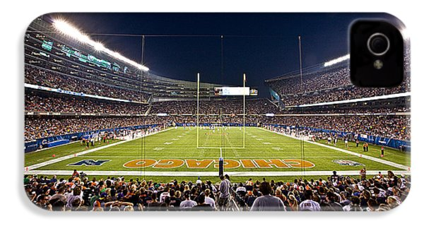 0588 Soldier Field Chicago IPhone 4 / 4s Case by Steve Sturgill