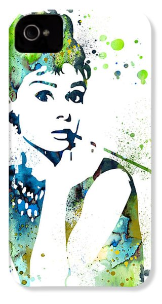 Audrey Hepburn  IPhone 4 / 4s Case by Luke and Slavi