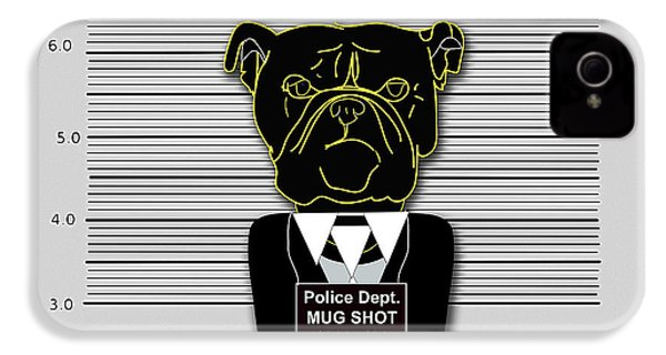 Bad Dog IPhone 4 / 4s Case by Marvin Blaine