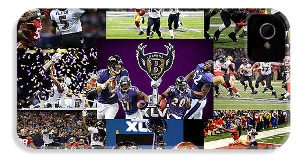 Baltimore Ravens IPhone 4 / 4s Case by Joe Hamilton