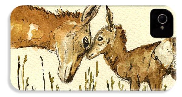 Bambi Deer IPhone 4 / 4s Case by Juan  Bosco