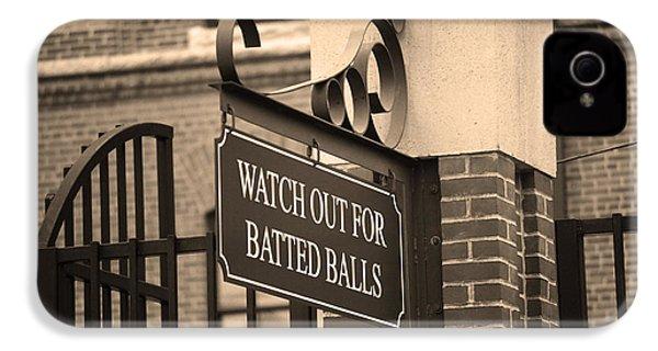 Baseball Warning IPhone 4 / 4s Case by Frank Romeo