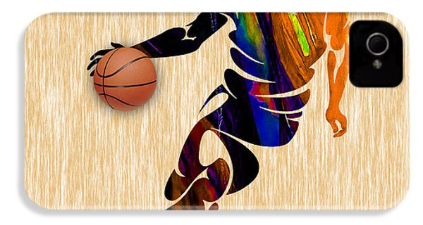 Basketball IPhone 4 / 4s Case by Marvin Blaine
