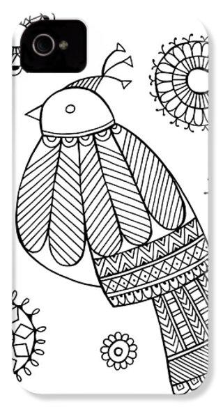 Bird Dove IPhone 4 / 4s Case by Neeti Goswami