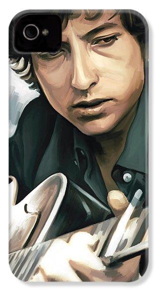 Bob Dylan Artwork IPhone 4 / 4s Case by Sheraz A