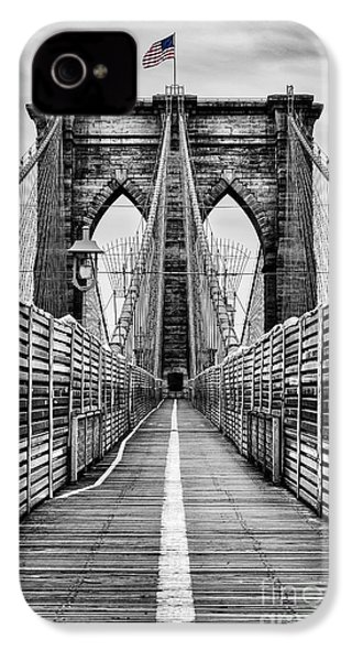 Brooklyn Bridge IPhone 4 / 4s Case by John Farnan