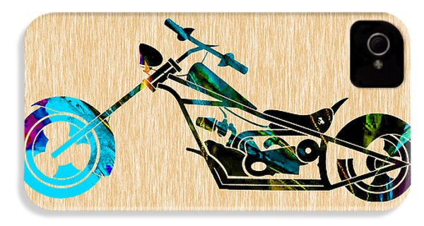 Chopper Art IPhone 4 / 4s Case by Marvin Blaine