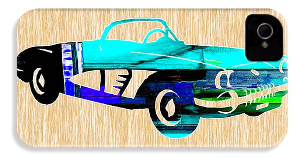 Classic Corvette IPhone 4 / 4s Case by Marvin Blaine