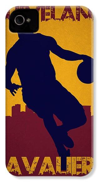 Cleveland Cavaliers Lebron James IPhone 4 / 4s Case by Joe Hamilton