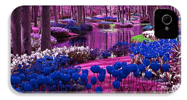 Colorful Flower Garden IPhone 4 / 4s Case by Marvin Blaine