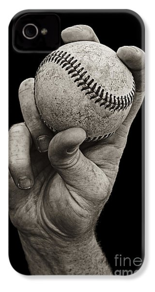 Fastball IPhone 4 / 4s Case by Diane Diederich